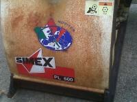 Macchina industriale  Fresa taglia asfalto SIMEX PL 600
