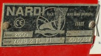 Fresatrice Nardi FRESA MOD.Z6/B210-VI