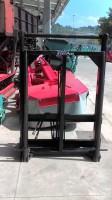 Macchina per fienagione  forca con extraelevazione idraulica per caricatore o sollevatore