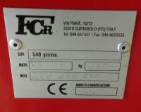 Ranghinatore  FCR  mod. 2001 13 braccia RT 5